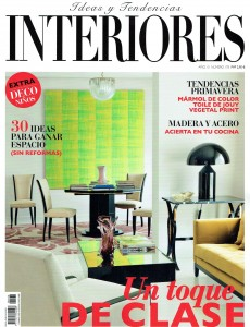 Barruguet en la Revista Interiores