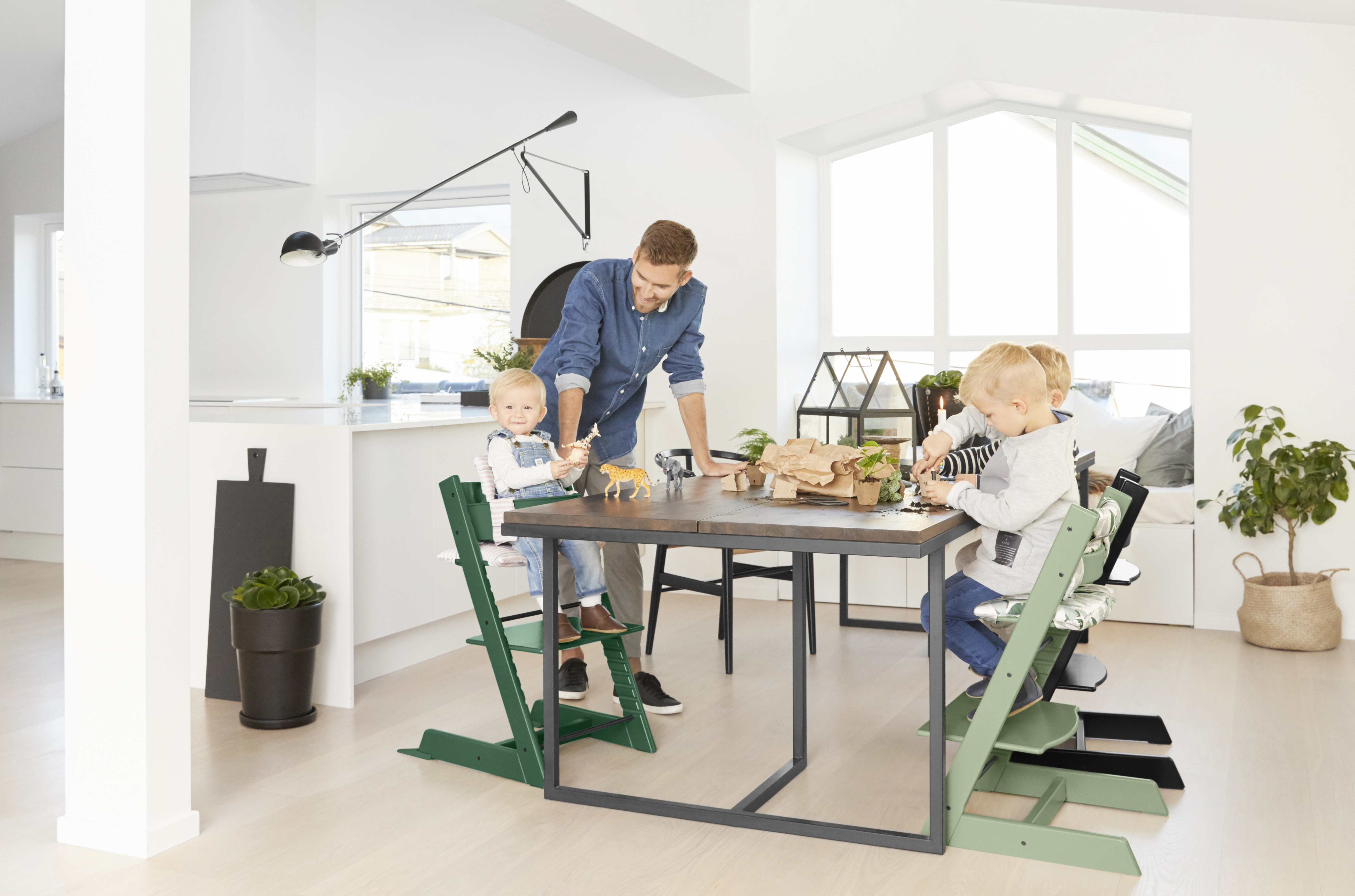 trona bebe tripp trapp stokke new colors kids abitare kids barruguet. Black Bedroom Furniture Sets. Home Design Ideas